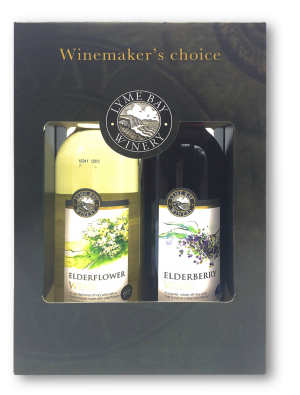 Elderflower & Elderberry Wine Gift Box