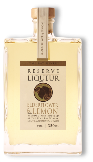 Elderflower & Lemon Reserve Liqueur
