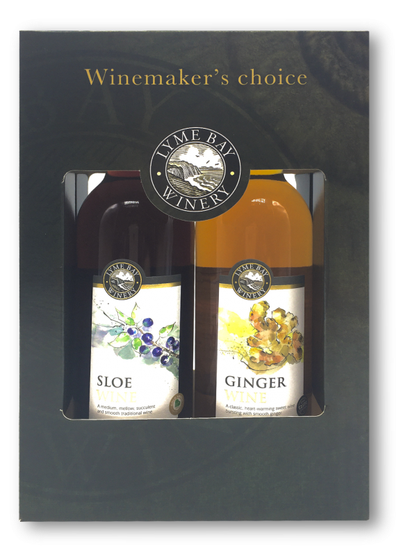 Sloe & Ginger Wine Gift Box