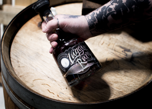 Lugger Rum on barrel
